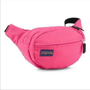 Jansport Fifth Ave. Neon Pink Festival Fanny Pack